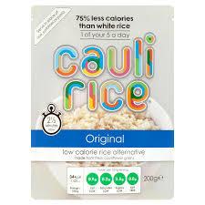 Cauli Rice Cauliflower Original Rice 200g