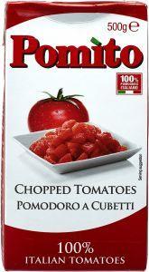 Pomito Polpa Chopped Tomatoes 500g