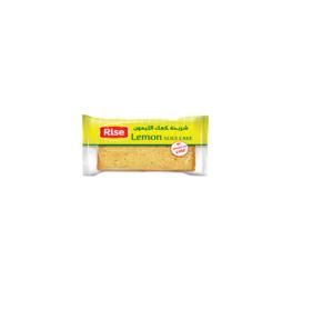 Rise Slice Cake Lemons 60g
