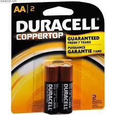 Duracell Battery AA 2s
