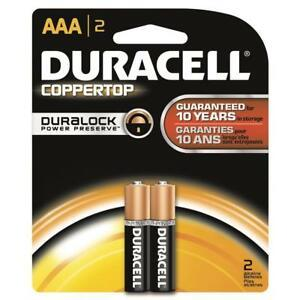 Duracell Battery AAA 2s