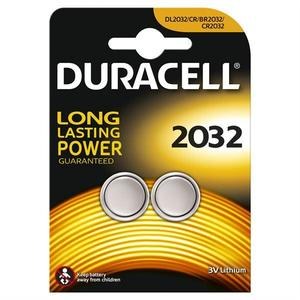 Duracell Battery Coin CR 2032 2s