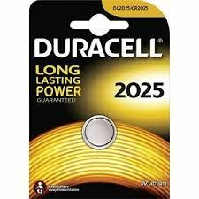 Duracell Battery Coin CR 2025 2s