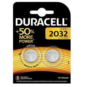 Duracell Battery Coin CR 2032 4s