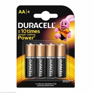 Duracell Battery AA 4s