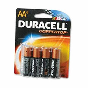 Duracell Battery AA 8s