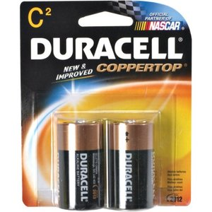 Duracell Battery C 2s