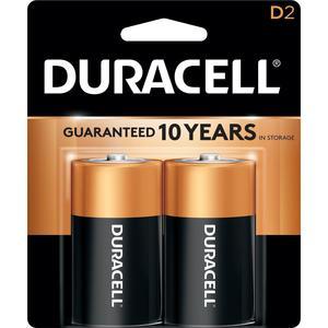 Duracell Battery D 2s
