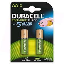 Duracell Battery Rechargeable AA 2s