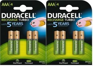 Duracell Battery Rechargeable AAA 4s