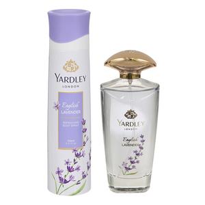 Yardley English Lavender + Body Spray 125ml+150ml