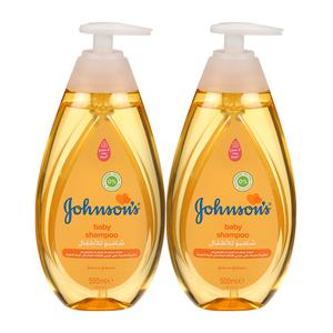 Johnson's Baby Gold Shampoo 2x500ml