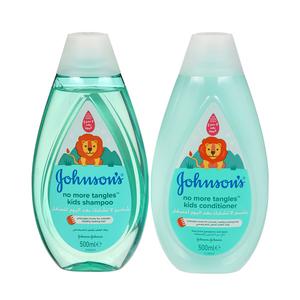 Johnson's Kids Shampoo & Conditioner No More Tangles 500ml+500ml