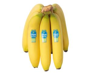 Organic Banana Chiquita Ecuador 500g