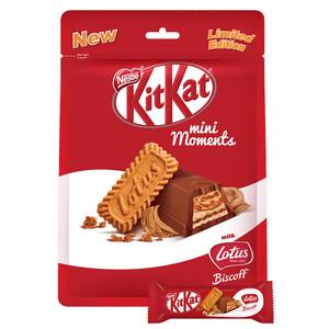KitKat Mini Moments Lotus Chocolate Pouch 122.5g