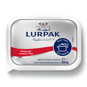 Lurpak Soft Unsalted For Cooking And Baking 200g
