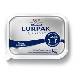 Lurpak Soft Salted For Cooking And Baking 200g