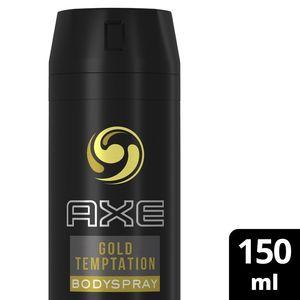 Axe Bodyspray For Men Gold Temptation 150ml
