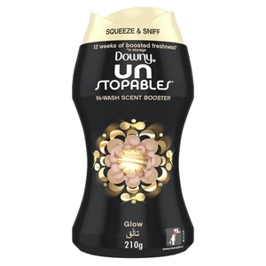 Downy Unstoppables In-Wash Freshness And Scent Booster Beads Glow Scent 210g