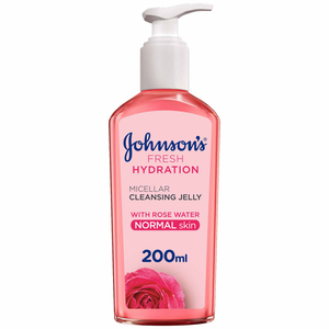 Johnson's Face Cleanser Fresh Hydration Micellar Cleansing Jelly Normal Skin 200ml