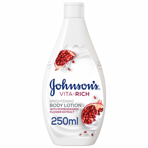 Johnson's Body Lotion Vita-Rich Brightening Pomegranate Flower 250ml