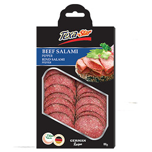 Texa-Star Beef Salami Paprika 80g