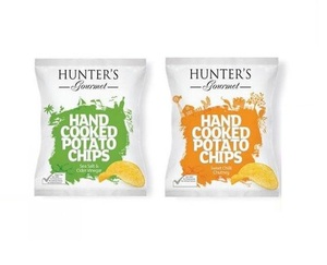 Hunter's Potato Chips Hand Cooked 2x125g