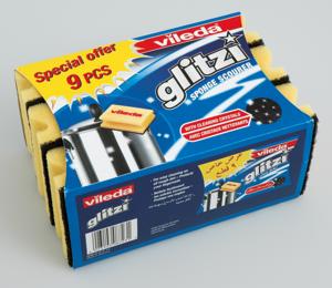 Vileda Sponge Glitzi 9s