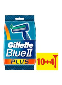 Gilette Blue 11 Plus Disposable 14pc