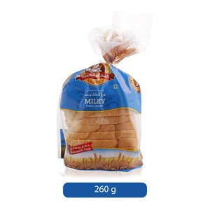 Al Jadeed Small Milky Bread Small 260g