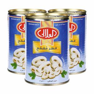 Al Alali Mushroom Pieces & Stems 3x400g