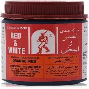 77 Food Colour Orange Red 4oz