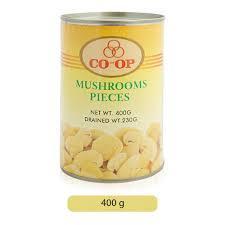 Co-Op Mushroom Pieces 400g