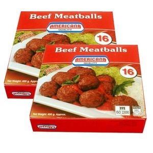 Americana Beef Meat Ball 2x400g
