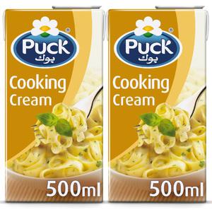 Puck Cooking Cream 2x500ml
