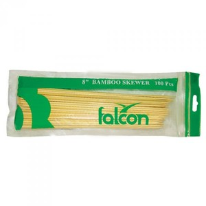 "Falcon Bamboo Skewer 100x8"""