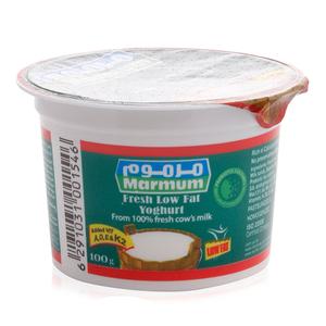 Marmum Fresh Low Fat Yoghurt 100g