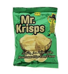 Mr.Krisps Duplex Curry Chips 15g