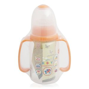 Rubby Printed Feeding Bottle With Handle 140ml