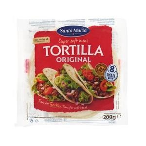 Santa Maria Soft Tortilla Original Mini 200g