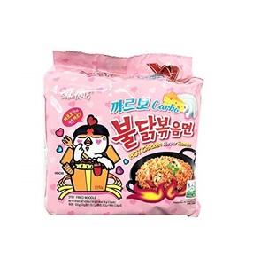 Samyang Carbonara Hot Chicken Noodles 5x130g