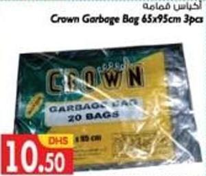 Crown Garbage Bags 65x95cms