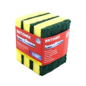 Britemax Sponge Scourier 3pc