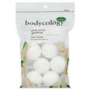 Bodycology Pure White Gardenia Bath Fizzies 60g