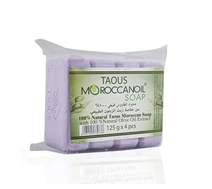 Moroccan Oil Taous Soap 4x125g