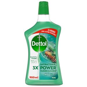 Dettol Pine Antibacterial Power Floor Cleaner 900ml