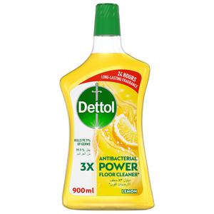 Dettol Lemon Antibacterial Power Floor Cleaner 900ml
