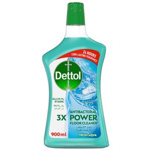 Dettol Fresh Aqua Antibacterial Power Floor Cleaner 900ml