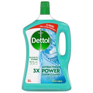 Dettol Fresh Aqua Antibacterial Power Floor Cleaner 3L
