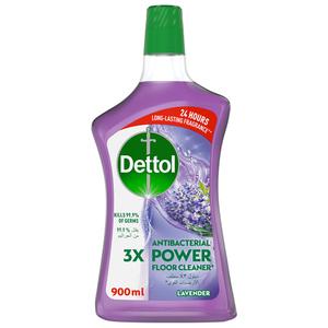 Dettol Lavender Antibacterial Power Floor Cleaner 900ml